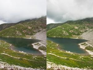 filtro polarizzatore fotografia di paesaggio
