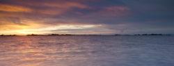 Fotografia di paesaggio in laguna a grado