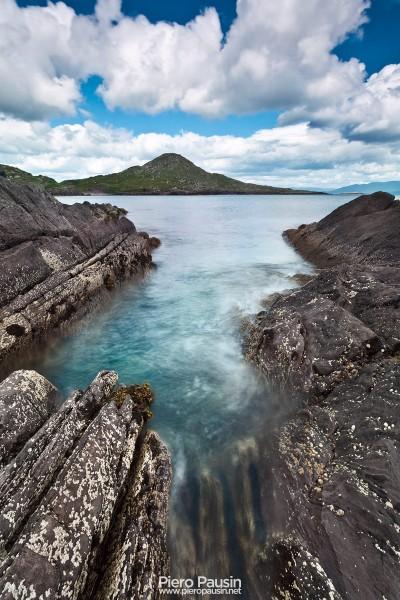 Spiaggia O Carrols Cove in Irldanda sul Ring Of Kerry