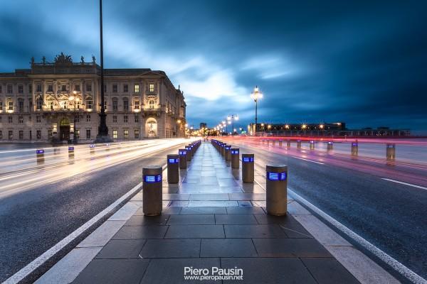 Rive di Trieste in notturna