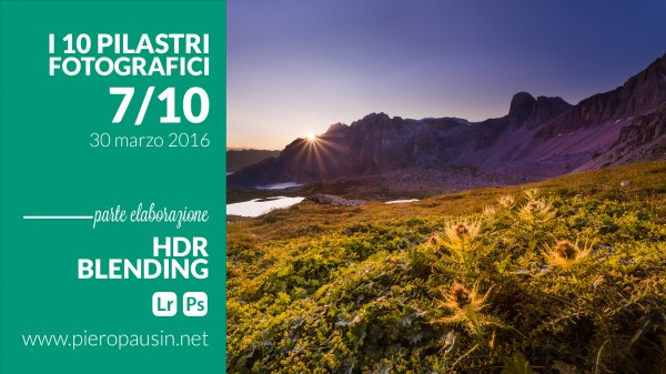 corso hdr e fusion blending photoshop lightroom a trieste