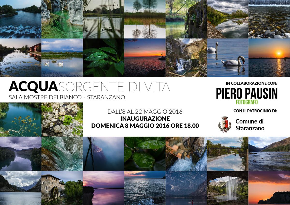 Mostra Fotografica Staranzano – Acqua Sorgente di Vita