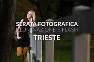 corso fotografia workshop illuminazione e flash trieste